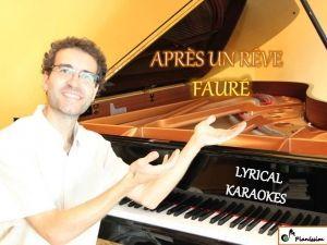 Après un rêve - Fauré