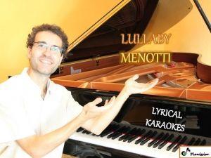 Lullaby - Menotti
